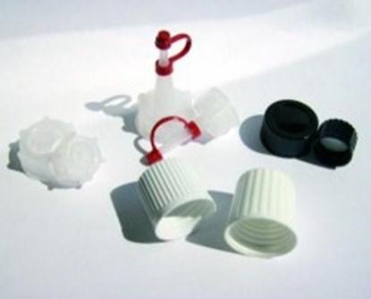 Slika za plastic cap, melamine, black