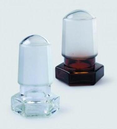 Slika za hexagonal glass stopper ns 12/21
