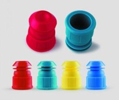 Slika za llg-test tube stoppers, blue