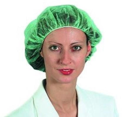 Slika za kapa medicinska zelena pk/100