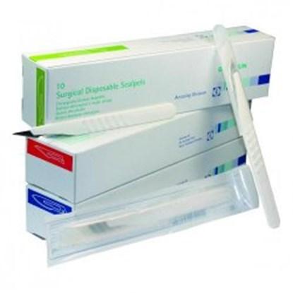Slika za skalpel,sterilni,size 10,pack