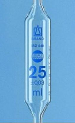 Slika za volumetric pipet 10 ml, with 2 marks