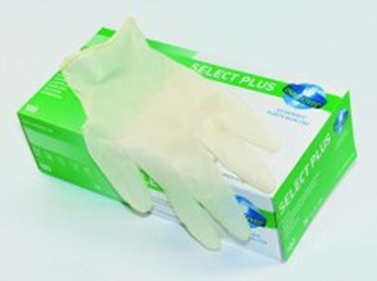 Slika za rukavice lateks l 8-9 bez pudera pk/100