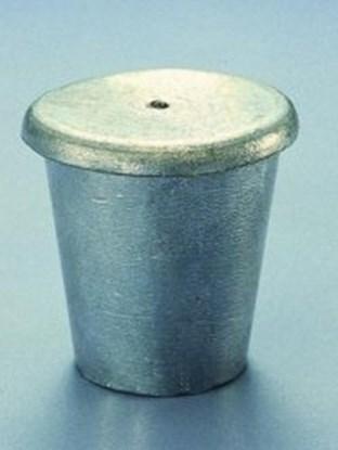 Slika za lead crucible,wall thickness 3 mm, with