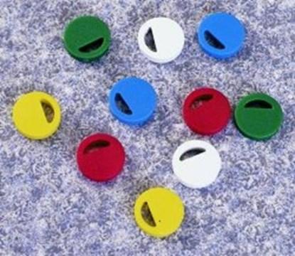 Slika za colored ps inserts,white,pack of 100