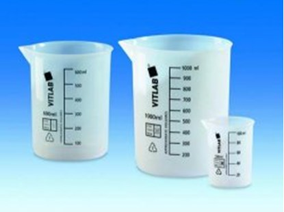 Slika za beakers,etfe,low form,cap. 25 ml,graduat