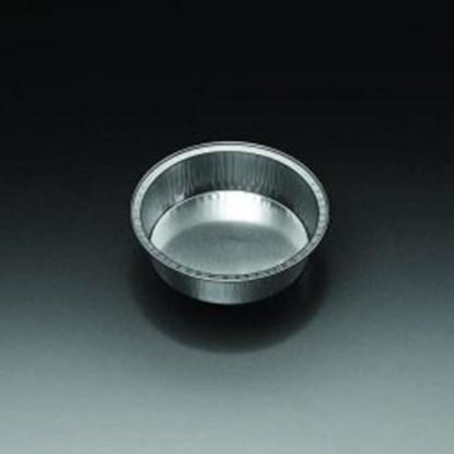 Slika za aluminum containers,cap. 125 ml,top diam