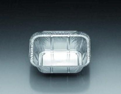 Slika za aluminium dish 251 ml, rectangular 128x1