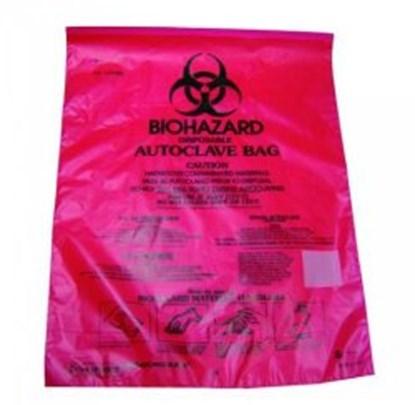 Slika za vreće za autoklaviranje infektivnog otpada hdpe 220x280mm  pk/100
