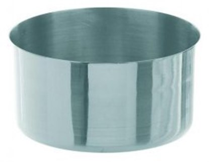 Slika za  evaporating dish high shape,18/8 steel