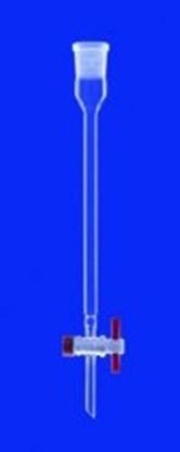 Slika za chromatographic columns with indentation