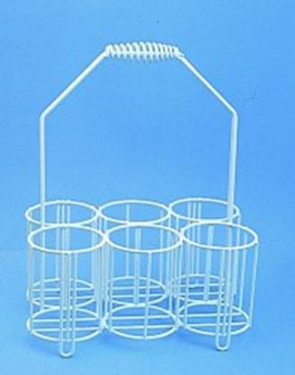Slika za bottle carriers,pe-coated wire,for 4 x 2