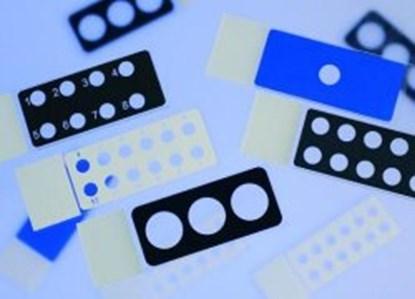 Slika za diagnosstic slides 25x75x1, epoxy