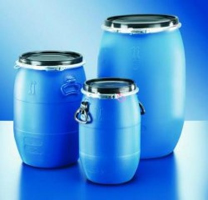 Slika za barrels,pe-ld,with standard lid and clam
