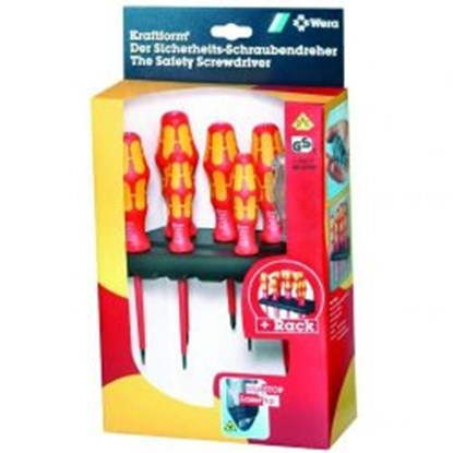 Slika za slot-head screwdriver set wera 160i/7