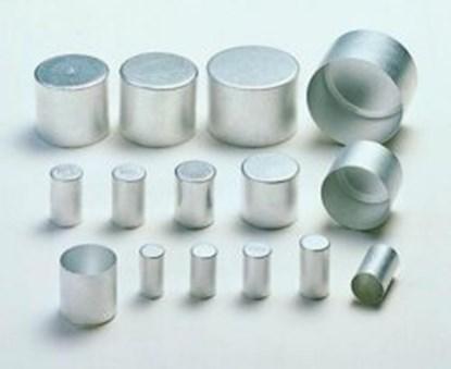 Slika za čep aluminijski 16x30mm  visoki pack/100
