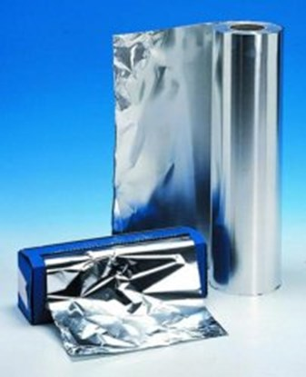 Slika za aluminium foil 400m x 20cm 30 um thick,