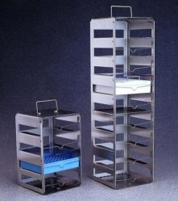 Slika za cryobox racks,st.steel,4 shelves