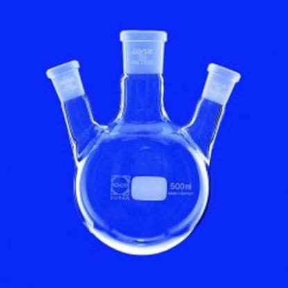 Slika za round-bottom flasks, three-neck, side ne