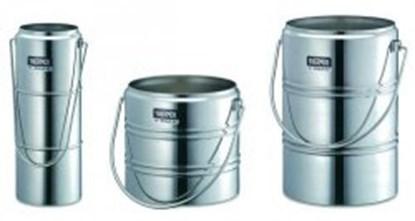 Slika za dewar vessels,chrome steel,cap. 2 ltr,