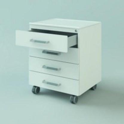 Slika za u/b mobile cabinet, 450x590x516, 1 drawe