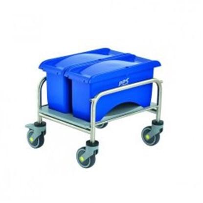 Slika za Cleaning trolleys Clino<sup><SUP>&reg;</SUP></sup> CR mini EM-CR1, stainless steel
