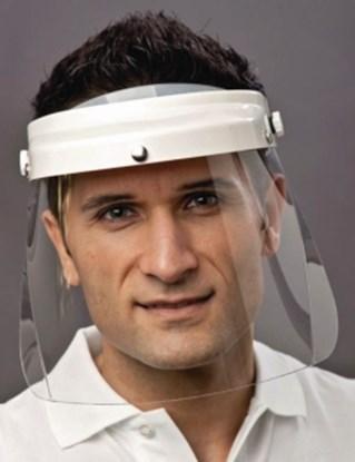 Slika za protective face shield, complete